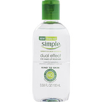 Simple Dual Effect Eye Make-up Remover | Ulta Beauty