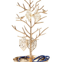 Perched Bird Jewelry Stand