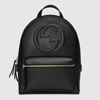 Gucci Soho leather chain backpack