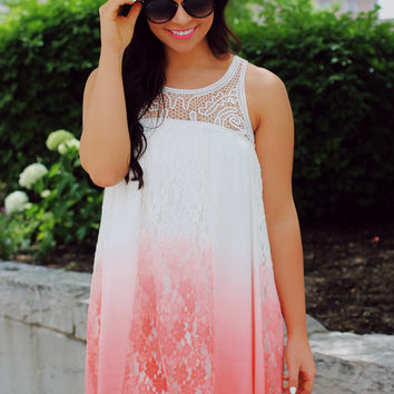 Take A Dip-dye Dress