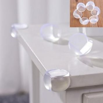 10Pcs/Child Baby Safe Safety silicone Protector Table Corner Edge Protection Cover Children Edge Corner Guards