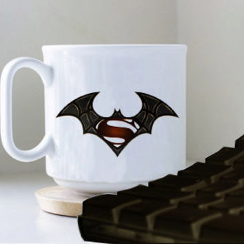 BATMAN SUPERMAN SPIDERMAN  mug heppy mug coffee, mug tea, size 8,2 x 9,5 cm.