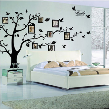 3D Photo Frame Tree Wall Stickers