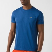 Lacoste Short Sleeve Pima Jersey Crew T-Shirt : Sweats & Tees
