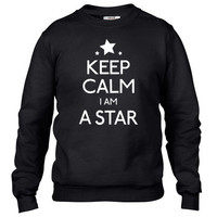 keep calm i'm a star Crewneck sweatshirt