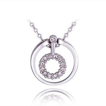 New 2016 Necklace Women jewelry 18K Gold necklaces & pendants SHDKXTTA