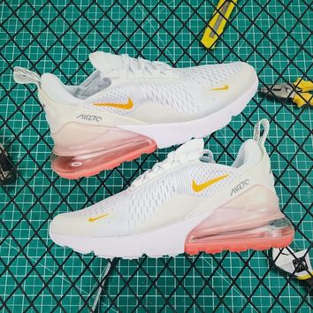 Nike Wmns Air Max 270 Pale Pink Running Shoes - Best Online Sale