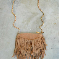 Fringed Crossbody Bag [5739] - $32.00 : Vintage Inspired Clothing & Affordable Dresses, deloom | Modern. Vintage. Crafted.