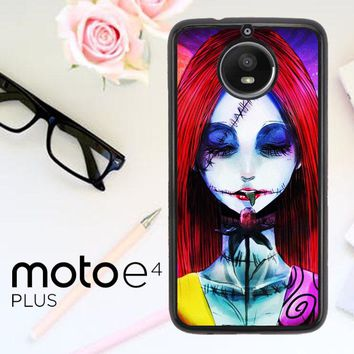 Sally The Nightmare Before Christmas Y0860 Motorola Moto E4 Plus Case