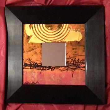 Hand Painted Mirror #168