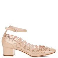 Mary-Jane patent-leather skull pumps | Alexander McQueen | MATCHESFASHION.COM US