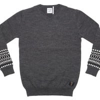 Bedwin & the Heartbreakers Maclise V-Neck Jacquard Sweater - Bodega