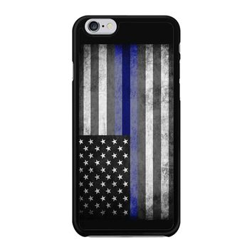 The Thin Blue Line American Police Officer Iphone 6 / 6S Case