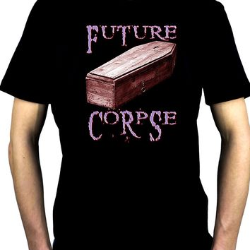 Future Corpse w/ Coffin Men't T-Shirt Gothic Clothing Vampire