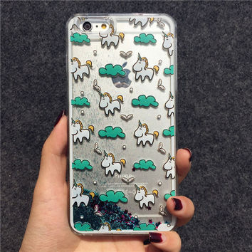 Unicorn mobile phone case for iphone 6 6s 6 plus 6s plus + Nice gift box 072301