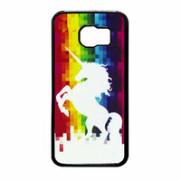 Unicorn Rainbow Samsung Galaxy S6 Case