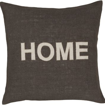 HOME Jute Throw Pillow