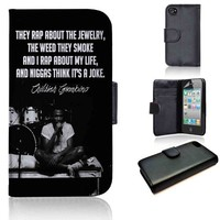 Childish Gambino Quotes 2 | wallet case | iPhone 4/4s 5 5s 5c 6 6+ case | samsung galaxy s3 s4 s5 s6 case |