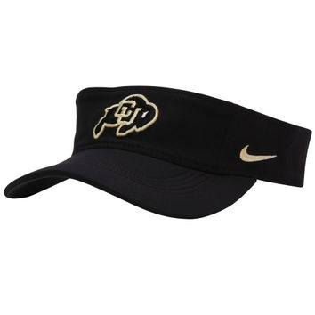 Colorado Buffaloes Nike Performance Training Visor – Black