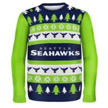 Seattle Seahawks NFL 2014 Ugly Christmas Sweater