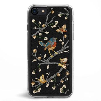 Sparrow Embroidered iPhone 7/8 Case