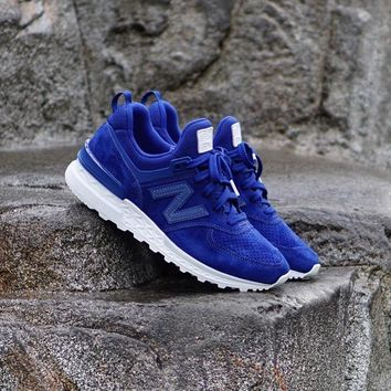 spbest New Balance 574 Sport Atlantic Blue