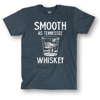 Smooth as Tennessee Whiskey Drinking Glass Vintage Style