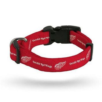 DCCKG8Q NHL Detroit Red Wings Pet Collar