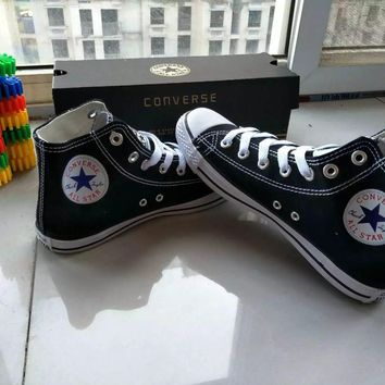 """Converse Chuck Taylor All Star"" Unisex Sport Casual High Help Shoes Canvas Shoes Coup"