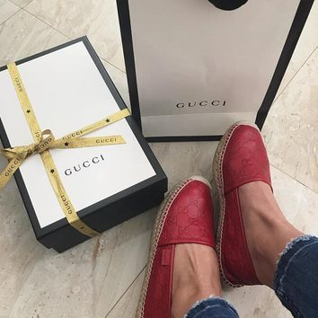 shosouvenir  GUCCI  Ladies' tide, leisure and low help shoes