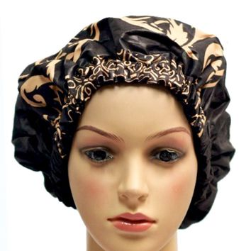 Glass Slippers Satin-Lined Hair Bonnet