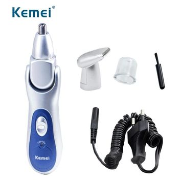 110-240V Rechargeable Nose Trimmer Ear Hair Removal Clipper Hair Cutting Machine Hair Cutter for men face care EU plug