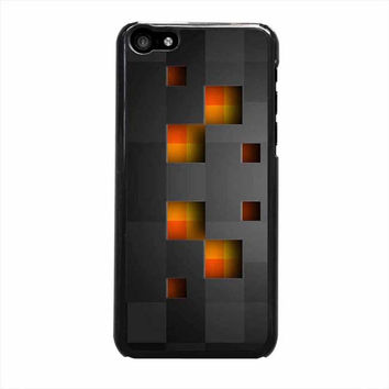 minecraft creeper black iphone 5c 5 5s 4 4s 6 6s plus cases