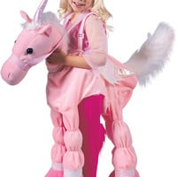 Pink Ride A Unicorn Child Costume
