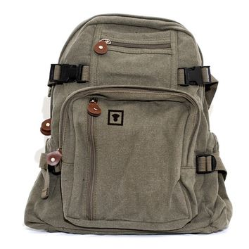 Backpack Medium Control Icon, Canvas Backpack, Rucksack, Travel Backpack, Small Backpack, Weekender Bag, Men's Backpack, Women's Backpack