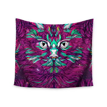 "Danny Ivan ""Space Cat"" Wall Tapestry"