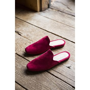 Gallery Super Suede, Ruby Red | Chinese Laundry