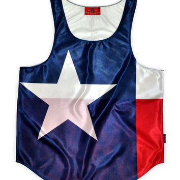 "Texas ""Lone Star State"" Flag Tank Top"