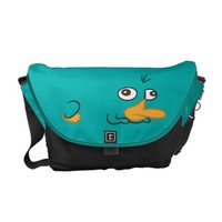 Perry the Platypus Messenger Bag