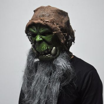 Orcs Masks Cosplay Prop Adult Scary Latex Mask for Halloween