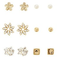 EMBELLISHED MIXED STUDS - 12 PACK