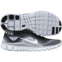 Nike Women's Free FlyKnit+ Running Shoe - Black/Grey | DICK'S Sporting Goods