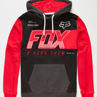 Fox Clutch Mens Hoodie Red  In Sizes