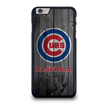 CHICAGO CUBS WOODEN LOGO iPhone 6 / 6S Plus Case Cover