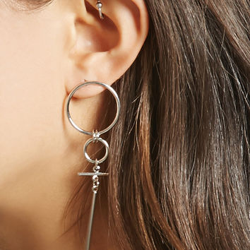 Geo Drop Earrings