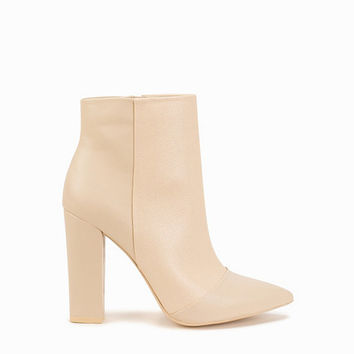 Pointy Toe Heel Boot, NLY Shoes