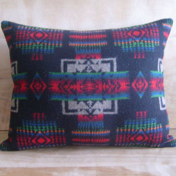 Pendleton Wool Pillow 13x16 by RobinCottage on Etsy