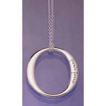 Friends Forever, Forever Friends Sterling Silver