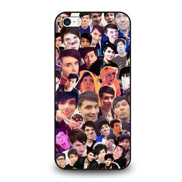 DAN AND PHIL COLLAGE iPhone SE Case Cover