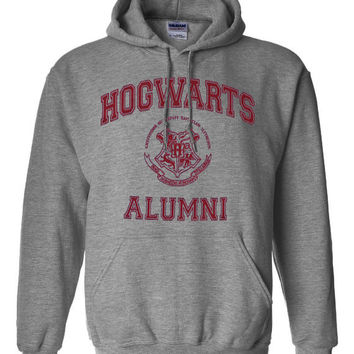 Hogwarts Alumni Harry Potter Parody Unisex Hoodie Hooded Sweatshirt Sweat shirt